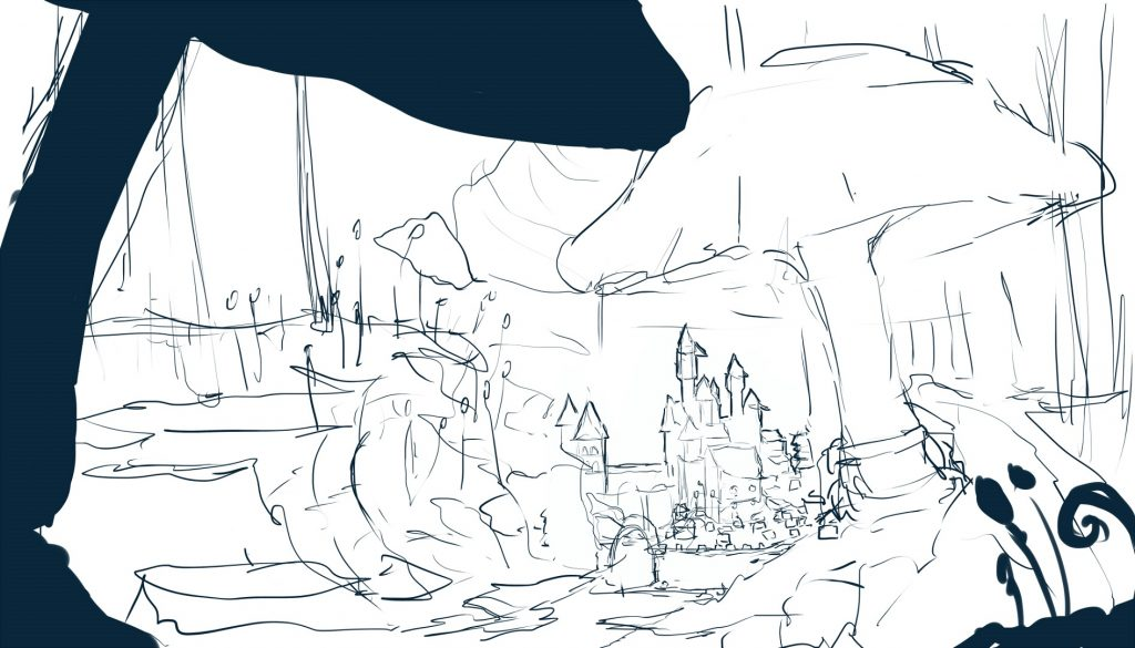 tiny kingdom sketch 2small - SMALL