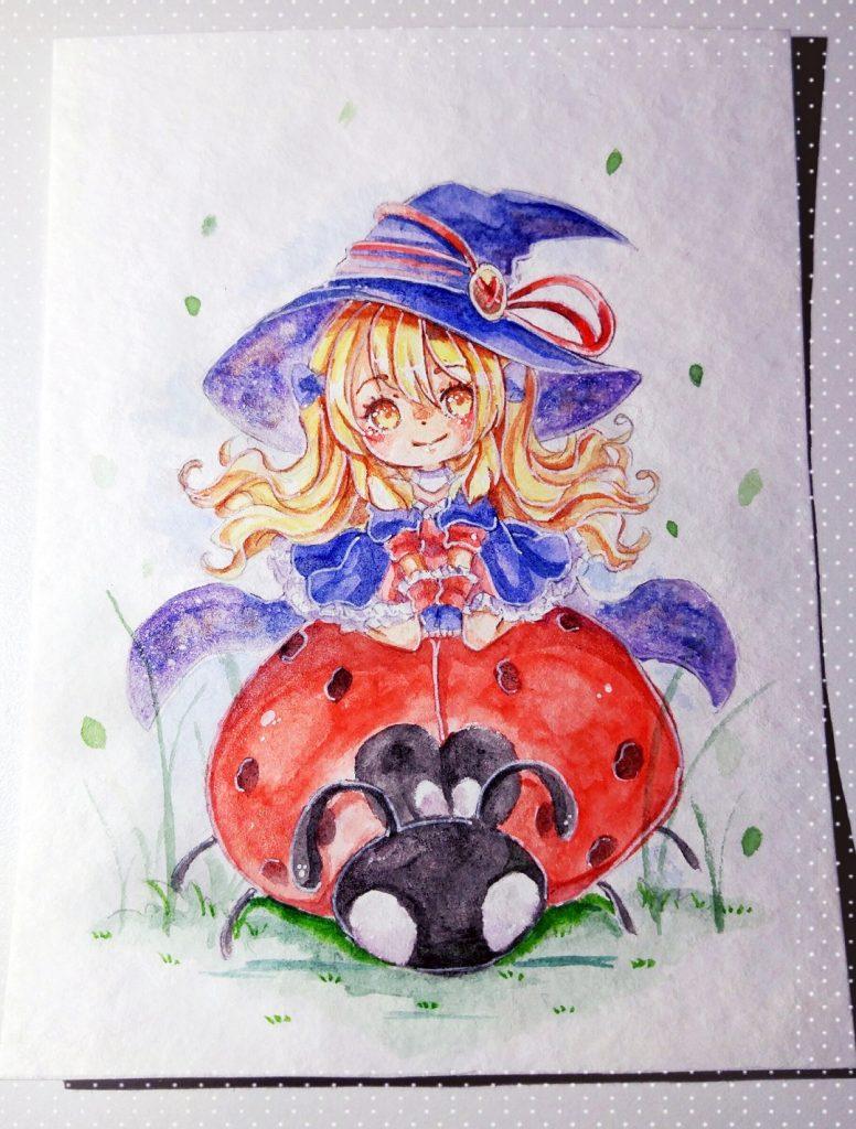 Fire Witch Fan Art (small)