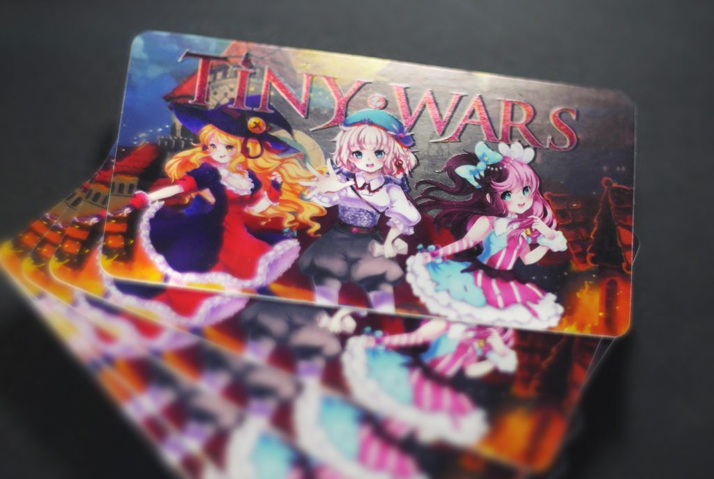 TinyWars business Cards 2 (Small)