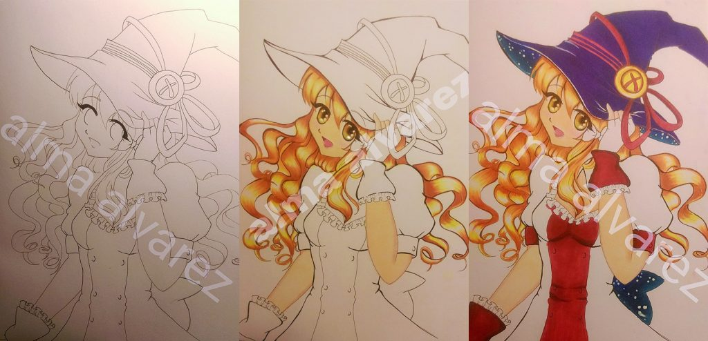 Bunniikitty fire witch transformation - Copy