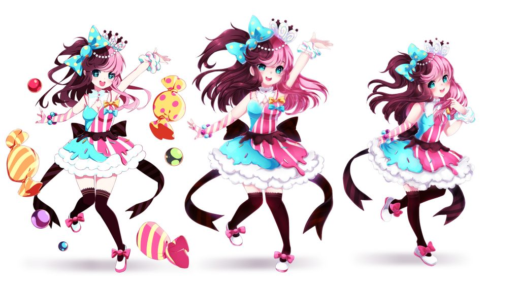 Candy Girl Poses CC