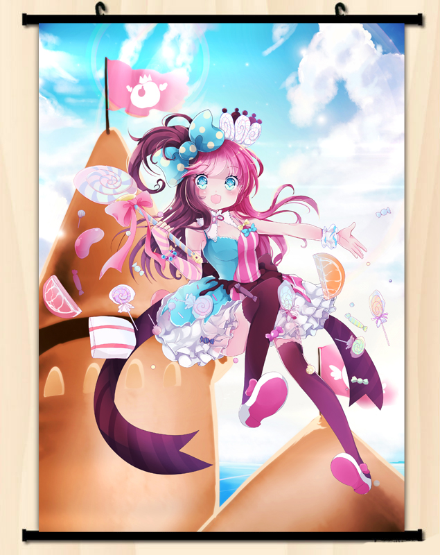 candy wall scroll tinywars wallscroll